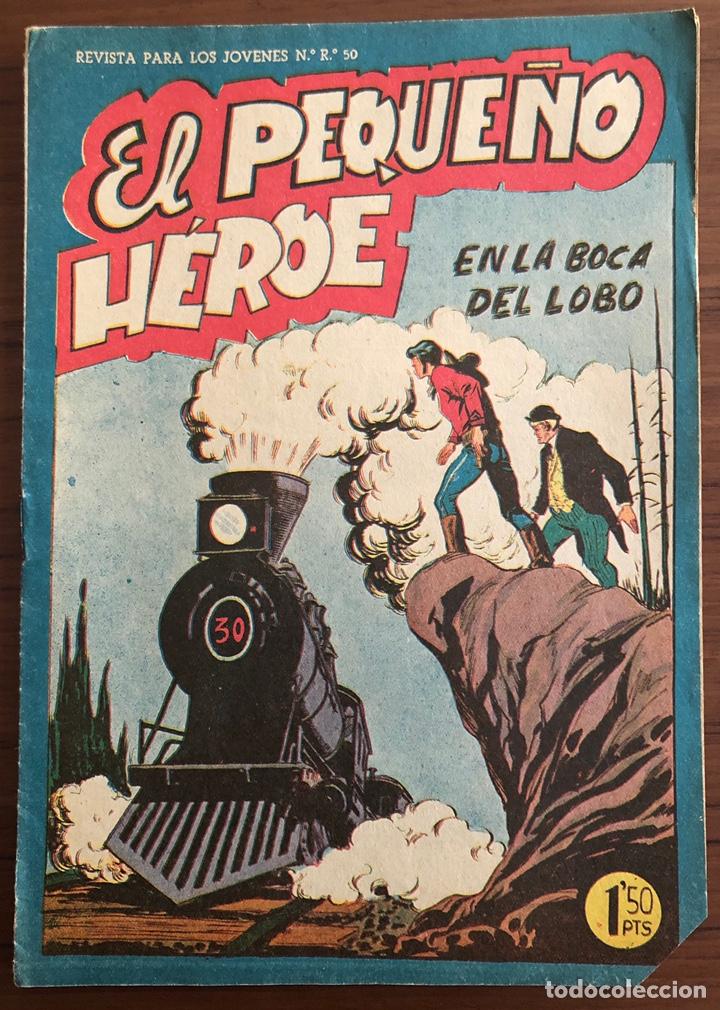 NUMERO 19 EL PEQUEÑO HEROE (MAGA 1956). ORIGINAL BUEN ESTADO (Tebeos y Comics - Maga - Pequeño Héroe)