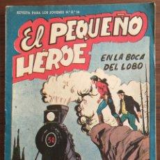 Tebeos: NUMERO 19 EL PEQUEÑO HEROE (MAGA 1956). ORIGINAL BUEN ESTADO. Lote 149893418