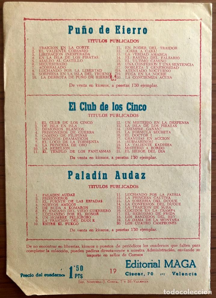 Tebeos: NUMERO 19 EL PEQUEÑO HEROE (MAGA 1956). ORIGINAL BUEN ESTADO - Foto 5 - 149893418