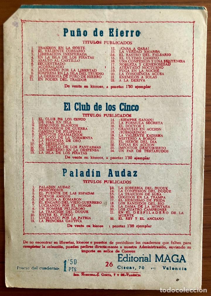 Tebeos: NUMERO 26 EL PEQUEÑO HEROE (MAGA 1956). ORIGINAL BUEN ESTADO - Foto 5 - 149900126