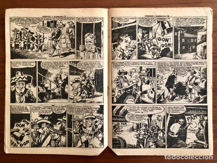 Tebeos: NUMERO 30 EL PEQUEÑO HEROE (MAGA 1956). ORIGINAL BUEN ESTADO - Foto 3 - 149902538