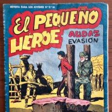 Tebeos: NUMERO 52 EL PEQUEÑO HEROE (MAGA 1956). ORIGINAL. Lote 149903594