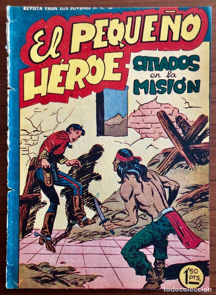 NUMERO 53 EL PEQUEÑO HEROE (MAGA 1956). ORIGINAL (Tebeos y Comics - Maga - Pequeño Héroe)