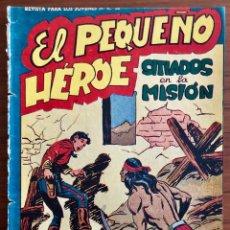 Tebeos: NUMERO 53 EL PEQUEÑO HEROE (MAGA 1956). ORIGINAL. Lote 149904402