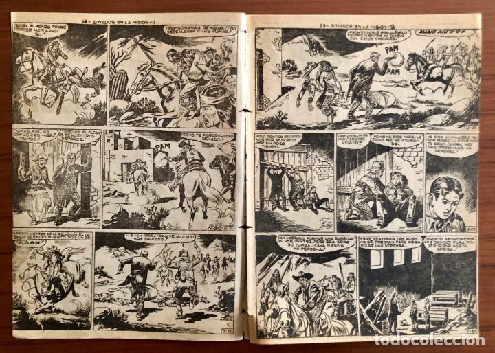 Tebeos: NUMERO 53 EL PEQUEÑO HEROE (MAGA 1956). ORIGINAL - Foto 3 - 149904402