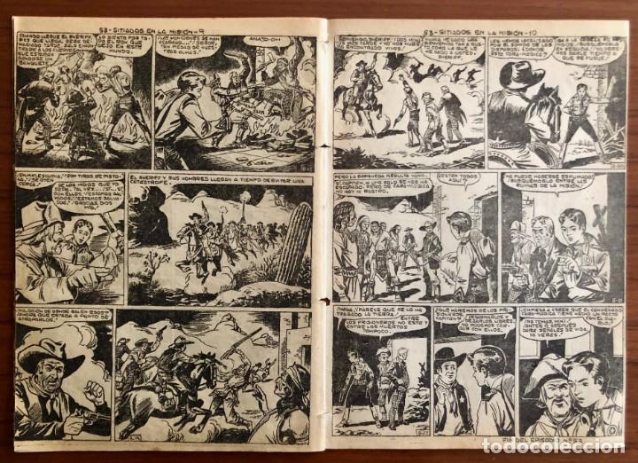 Tebeos: NUMERO 53 EL PEQUEÑO HEROE (MAGA 1956). ORIGINAL - Foto 7 - 149904402