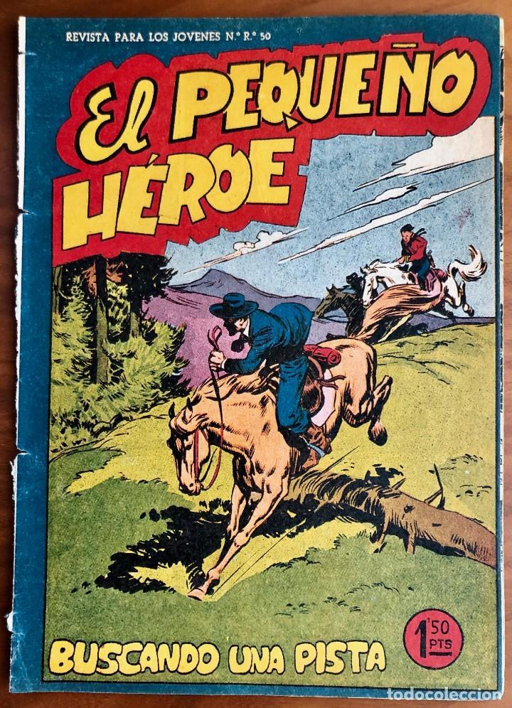 NUMERO 58 EL PEQUEÑO HEROE (MAGA 1956). ORIGINAL (Tebeos y Comics - Maga - Pequeño Héroe)