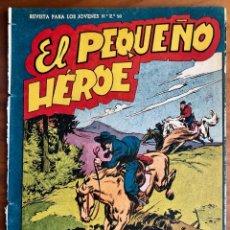 Tebeos: NUMERO 58 EL PEQUEÑO HEROE (MAGA 1956). ORIGINAL. Lote 149904602