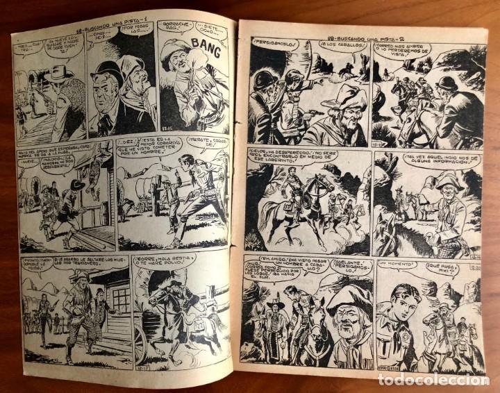 Tebeos: NUMERO 58 EL PEQUEÑO HEROE (MAGA 1956). ORIGINAL - Foto 2 - 149904602
