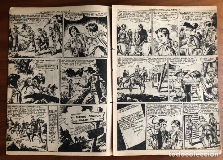 Tebeos: NUMERO 58 EL PEQUEÑO HEROE (MAGA 1956). ORIGINAL - Foto 3 - 149904602
