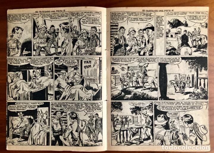 Tebeos: NUMERO 58 EL PEQUEÑO HEROE (MAGA 1956). ORIGINAL - Foto 4 - 149904602
