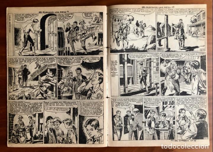 Tebeos: NUMERO 58 EL PEQUEÑO HEROE (MAGA 1956). ORIGINAL - Foto 6 - 149904602