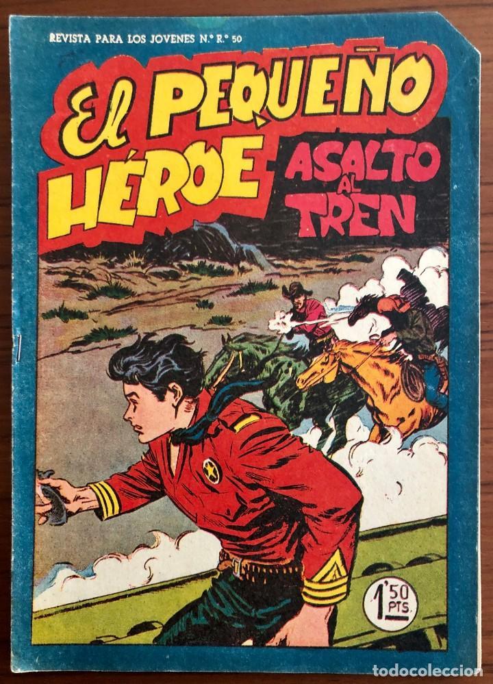 NUMERO 59 EL PEQUEÑO HEROE (MAGA 1956). ORIGINAL BUEN ESTADO (Tebeos y Comics - Maga - Pequeño Héroe)