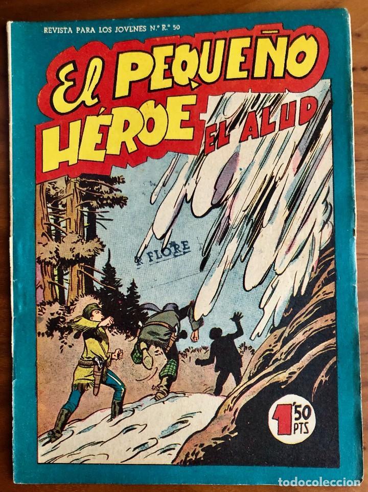 NUMERO 94 EL PEQUEÑO HEROE (MAGA 1956). ORIGINAL (Tebeos y Comics - Maga - Pequeño Héroe)