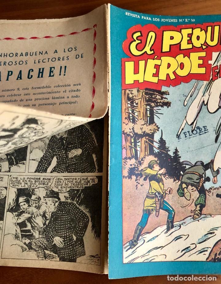 Tebeos: NUMERO 94 EL PEQUEÑO HEROE (MAGA 1956). ORIGINAL - Foto 3 - 149905358