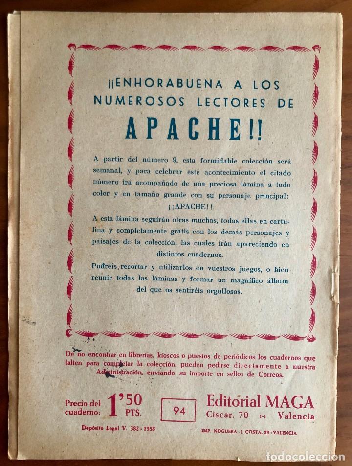 Tebeos: NUMERO 94 EL PEQUEÑO HEROE (MAGA 1956). ORIGINAL - Foto 5 - 149905358