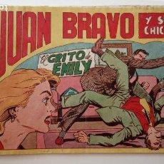 Tebeos: JUAN BRAVO Y SUS CHICOS ORIGINAL Nº 28 - JOSÉ ORTÍZ - EDI. MAGA 1953 - HU. Lote 150845422