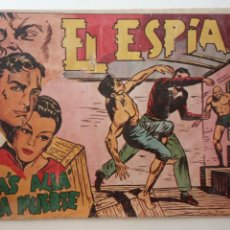 Tebeos: EL ESPÍA ORIGINAL Nº 8 - JOSÉ ORTÍZ - EDI. MAGA 1951 - HU. Lote 150845526