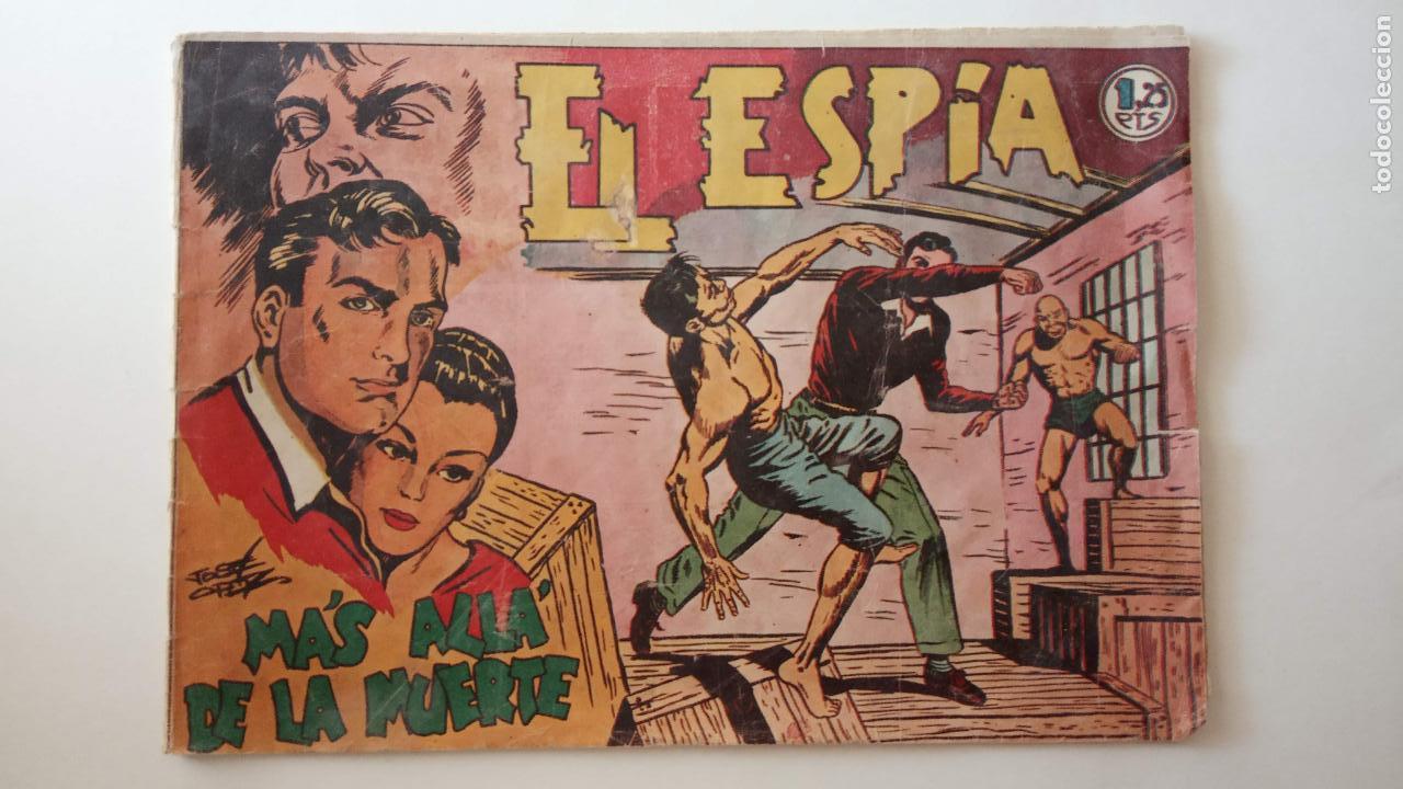 Tebeos: EL ESPÍA ORIGINAL Nº 8 - JOSÉ ORTÍZ - EDI. MAGA 1951 - HU - Foto 3 - 150845526