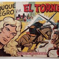 Tebeos: EL DUQUE NEGRO ORIGINAL Nº 19 - GAGO - MAGA 1958 - HU. Lote 150845614