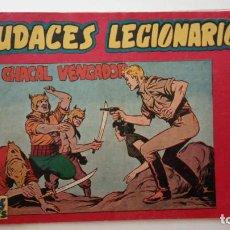 Tebeos: AUDACES LEGIONARIOS ORIGINAL Nº 12 MUY BUEN ESTADO - MAGA 1958 - LEOPOLDO ORTÍZ - HU. Lote 150845950