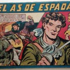 Tebeos: EL AS DE ESPADAS ORIGINAL Nº 25 - EDI. MAGA 1954 - MANUEL GAGO - HU. Lote 150846102