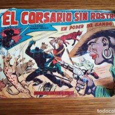Tebeos: EL CORSARIO SIN ROSTRO Nº 21ORIGINAL. Lote 151517414