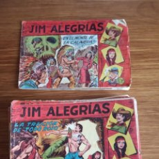 Tebeos: JIM ALEGRIAS ORIGINALES 33 NÚMEROS. Lote 151518106
