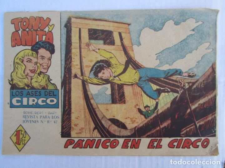 TONY Y ANITA , N. 26 , PANICO EN EL CIRCO , MAGA (Tebeos y Comics - Maga - Tony y Anita)
