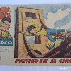 Tebeos: TONY Y ANITA , N. 26 , PANICO EN EL CIRCO , MAGA. Lote 151547058