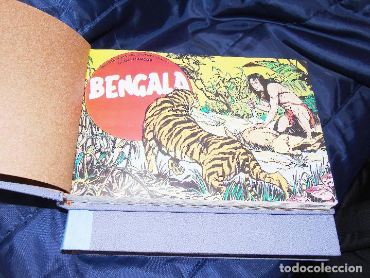 Tebeos: BENGALA 1ª PARTE --REEDICION DE 54 FASCICULOS ENCUADERNADA EN DOS TOMOS - Foto 3 - 152234578