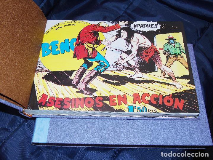 Tebeos: BENGALA 1ª PARTE --REEDICION DE 54 FASCICULOS ENCUADERNADA EN DOS TOMOS - Foto 4 - 152234578