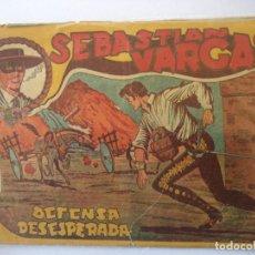 Tebeos: SEBASTIAN VARGAS Nº 10 ORIGINAL BUEN ESTADO. Lote 152428326