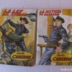 Tebeos: CAMERON NºS 1 Y 2 EDITORIAL GOGAR 1966 NOVELA GRAFICA. Lote 154618738