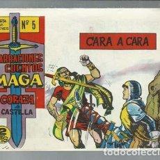 Tebeos: NARRACIONES Y CUENTOS MAGA: CORAZA DE CASTILLA 5, 1964, MAGA, IMPECABLE. Lote 154737962