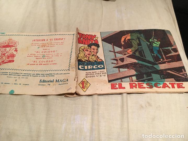 TONY Y ANITA - Nº8 - EL RESCATE - EDITORIAL MAGA (Tebeos y Comics - Maga - Tony y Anita)