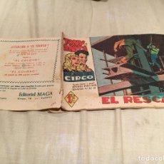 Tebeos: TONY Y ANITA - Nº8 - EL RESCATE - EDITORIAL MAGA. Lote 155703746