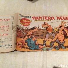 Tebeos: PEQUEÑO PANTERA NEGRA - Nº 140 - CARNAVAL MUERTE - EDITORIAL MAGA. Lote 155708094