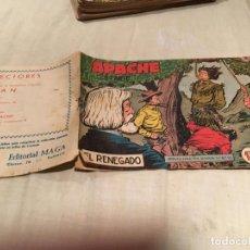 Tebeos: APACHE 2ª SERIE Nº3 - EL RENEGADO - EDITORIAL MAGA . Lote 155720318