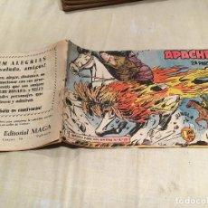 Tebeos: APACHE 2ª SERIE Nº6 - LA PRUEBA DE FUEGO - EDITORIAL MAGA. Lote 155720490