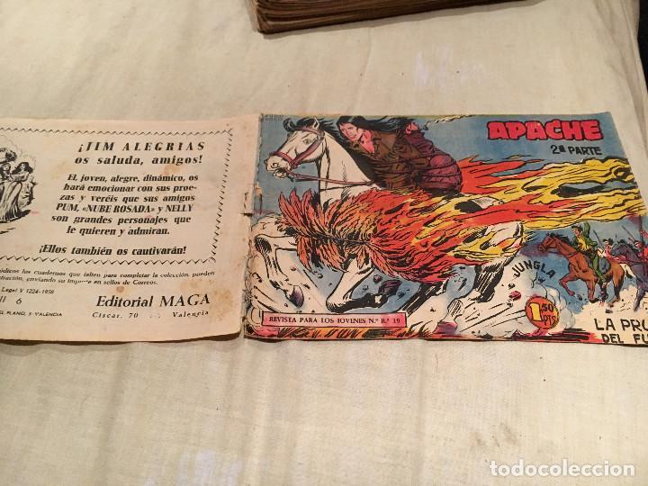 APACHE 2ª SERIE Nº6 - LA PRUEBA DE FUEGO - EDITORIAL MAGA (Tebeos y Comics - Maga - Apache)