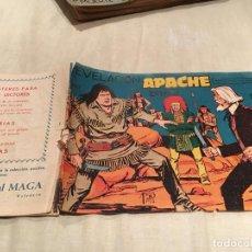 Tebeos: APACHE 2ª SERIE Nº9 - EL RENEGADO - EDITORIAL MAGA. Lote 155721110