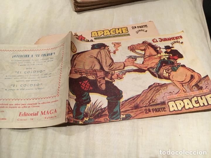 APACHE 2ª SERIE Nº19 - EL JURAMENTO - EDITORIAL MAGA (Tebeos y Comics - Maga - Apache)