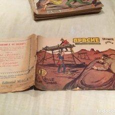 Tebeos: APACHE 2ª SERIE Nº22 - EL VALLE DE LAS TUMBAS - EDITORIAL MAGA. Lote 155721606