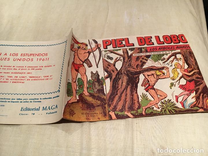 PIEL DE LOBO Nº 76 - LOS ARBOLES AVANZAN - EDITORIAL MAGA (Tebeos y Comics - Maga - Piel de Lobo)