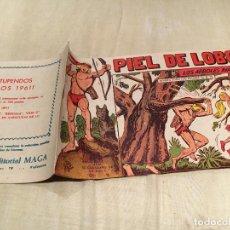 Tebeos: PIEL DE LOBO Nº 76 - LOS ARBOLES AVANZAN - EDITORIAL MAGA . Lote 155749150