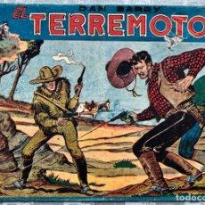 Tebeos: DAN BARRY EL TERREMOTO NUMERO 1 EDITORIAL MAGA 1954. DIFICIL. Lote 155827118