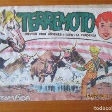 Tebeos: TERREMOTO -Nº17. Lote 155871254