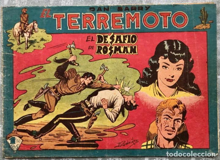 ESCASO Y DIFÍCIL!! DAN BARRY EL TERREMOTO 75 MAGA. ÚNICO EN TODOCOLECCIÓN (Tebeos y Comics - Maga - Dan Barry)