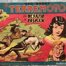 Tebeos: DAN BARRY EL TERREMOTO NUMERO 75 EDITORIAL MAGA 1954. DIFICIL. Lote 155873238
